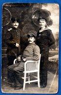 Carte Photo  -    Soldats Allemands  - Oldenburg  -  30/7/1916 - Weltkrieg 1914-18