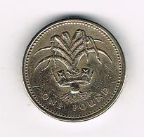 /  GREAT BRITAIN  1 POUND   1985  WELSH  LEEK - 1 Pound