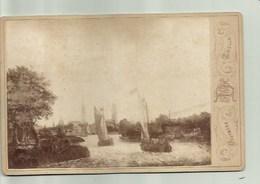 Foto Op Karton - Nederland - Zwolle  11/17 Cm Photographisch  Deutmann - Ancianas (antes De 1900)