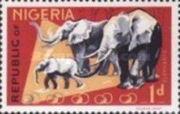 USED STAMPS Nigeria - Animals -1965 - Nigeria (1961-...)