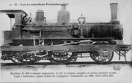 Locomotive Est Type 120 Série 543 à 562 - Trains