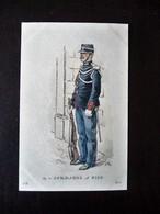 Paris Hergestellt Frankreich Gendarme A Pied Ca. 1910 ? Sammlungsaufl. - Uniformen