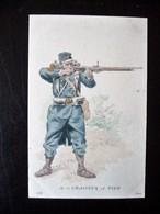 Paris Hergestellt Frankreich Chasseur A Pied Ca. 1910 ? Sammlungsaufl. - Uniformen