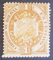 1894-1897, Coat Of Arms, Bolivia, MLH - Bolivie