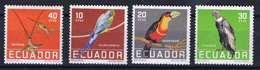 Collection Of Animals! Ecuador 1958. Animals / Birds Set MNH (**) - Equateur