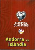 UEFA EUROPEAN QUALIFIERS.2020. ANDORRA-ICELAND, BOOKLET 16 PAGES LUXE, Disponible Seuls Aux Tickets VIP - Bücher, Zeitschriften, Comics