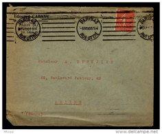 Am5616 OMEC KRAG B043201 Paris 43  Rue Littré 6 L.D. égales /L 05/06/30 - Marcophilie (Lettres)