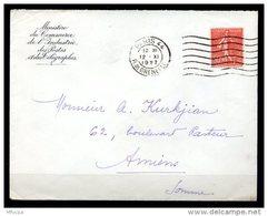 Am5618 OMEC FLIER B044102 Paris 44 R. De Grenelle 7 L.O. /L 12/11/27 - Marcophilie (Lettres)