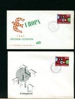 EUROPA CEPT 1961 - FDC - LIECHTENSTEIN - Comunità Europea