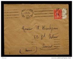 Am5633 OMEC KRAG B083201 Paris 83 Rue Bleue. 4 L.D Presque égales /L 27/02/29 - Marcophilie (Lettres)