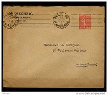Am5640 OMEC KRAG B090101 Paris 90 R. Duperre 4 L.D. égales /L 24/10/29 - Marcophilie (Lettres)