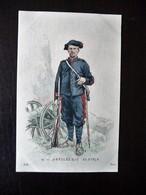 Paris Hergestellt Frankreich Artillerie Alpine Ca. 1910 ? Sammlungsaufl. - Uniformen