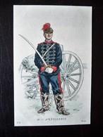 Paris Hergestellt Frankreich Artillerie Ca. 1910 ? Sammlungsaufl. - Uniformen
