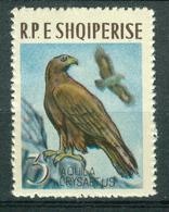 BM Albanien 1963 | MiNr 742 | MNH | Vögel, Steinadler - Albanie