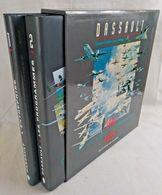 Coffret DASSAULT 50 Ans D'Aventure Aéronautique - 2 Tomes - 1945 -1995 -Ed Chêne - Autres