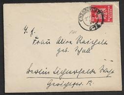 1926 DR  BRIEF  - CHRONSTAU K2 Auf 10Pfg - 27.4.26 ( OBERSCHLESIEN ) - Germany