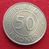 Iceland  50 Kronur 1970 KM# 16  Islandia Islande Island Ijsland - IJsland