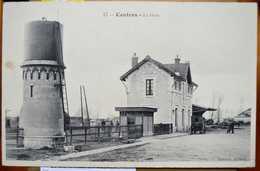 Gare De Contres Tramways Du Loir-et-Cher (41) - Stations Without Trains