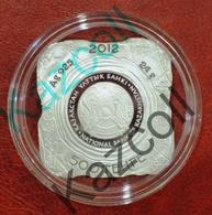 Kazakhstan 2012. 500 Tenge, Petroglyphs Of Tamgaly. 24 Gr, Silver. Proof - Kazakhstan