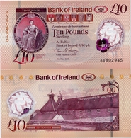 NORTHERN IRELAND - BI       10 Pounds       P-New       31.5.2017 (2019)       UNC - [ 2] Ireland-Northern