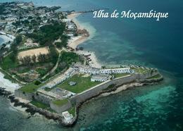AK Mosambikinsel Mozambique Island Fortress UNESCO Aerial View New Postcard - Mosambik