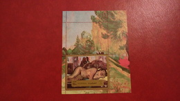 Fujeira 1972 - Gauguin Paintings - Perf Sheet Mi 124 A MNH - Nude Art - Fujeira