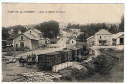 Camp De La Courtine / Gare Et Entrée Du Camp / Ed. Bresson - La Courtine