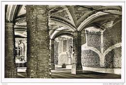 32051. Postal EVORA (Portugal). Igreja De San Francisco. Iglesia.  (Capela Dos Ossos) - Evora