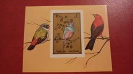 Fujeira 1972 - Birds - Imperf Sheets Mi 94 B MNH - Animals Rare Deluxe - Fujeira