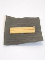 Insigne Militaire Tissu - Galon De Poitrine (Ajudant-Chef) - Military Badges P.V. - Ecussons Tissu