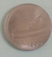 India Indein 1998 Error   50 Paise Coin Bombay  Mint - India