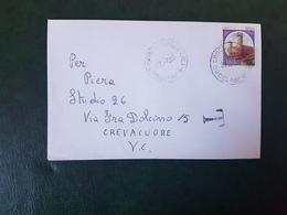 (27683) STORIA POSTALE ITALIA 1990 - 1981-90: Storia Postale