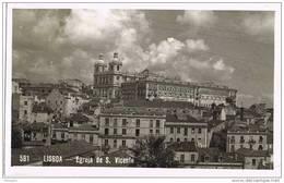 32054. Postal LISBOA (Portugal). Egreja De San Vicente. Iglesia - Lisboa