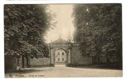 Modave - Entrée Du Château - 1922 - Edit. Hôtel Du Pont De Bonne - 2 Scans - Modave