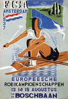 @@@ MAGNET - De Europeesche F.I.S.A. Roeikampioenschappen Amsterdam. Rowing - Publicitaires