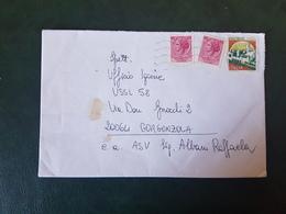 (27689) STORIA POSTALE ITALIA 1990 - 1981-90: Storia Postale