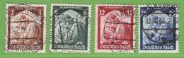 MiNr. 565-568 O Deutsches Reich - Deutschland