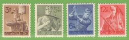 MiNr. 850-853  Xx Deutsches Reich - Deutschland