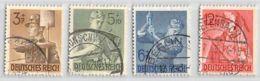 MiNr. 850-853 O Deutsches Reich - Deutschland