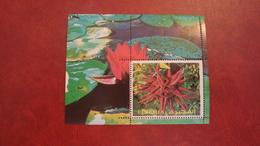 Fujeira 1972 - Flowers - Perf Sheet Mi 135 A MNH - Plants - Fujeira