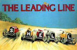 @@@ MAGNET - Shell, Leading Line, 1923 - Publicitaires