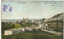 LAS PALMAS ESCRITA 1912 CIRCULADA EN BELGICA - Gran Canaria