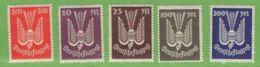MiNr. 263-267  Xx Deutsches Reich - Deutschland