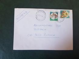 (27693) STORIA POSTALE ITALIA 1990 - 1981-90: Storia Postale
