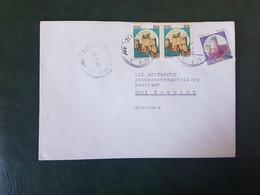 (27694) STORIA POSTALE ITALIA 1990 - 1981-90: Storia Postale