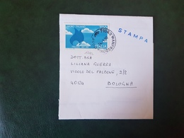 (27697) STORIA POSTALE ITALIA 1990 - 1981-90: Storia Postale