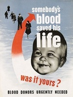 @@@ MAGNET - Somebody's Blood Saved His Live Was It Yours - Publicitaires