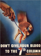 @@@ MAGNET - Don't Give Your Blood To The 7th Column Carelessness - Publicitaires