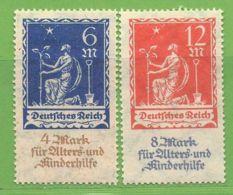 MiNr. 233-234  Xx Deutsches Reich - Deutschland