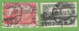 MiNr. 113-114 O Deutsches Reich - Deutschland